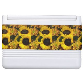 Sunflower Fall Flowers Igloo Ice Chest