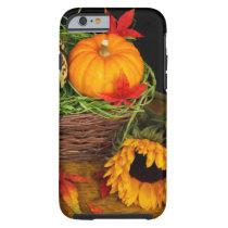 Sunflower Fall Thanksgiving Tough iPhone 6 Case
