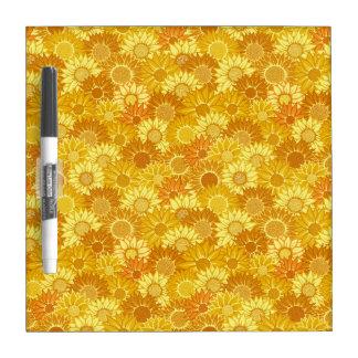 Sunflower Festival Dry Erase Board