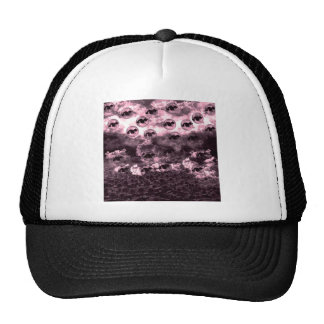 Sunflower field and cat mesh hats