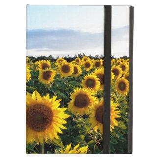 Sunflower Field iPad Folio Cases