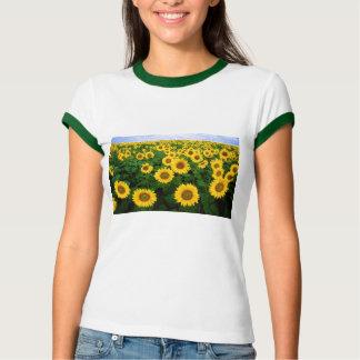 Sunflower Field Yellow Flowers T-Shirt
