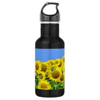 Sunflower Fields 18oz Water Bottle
