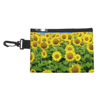 Sunflower Fields Accessories Bags