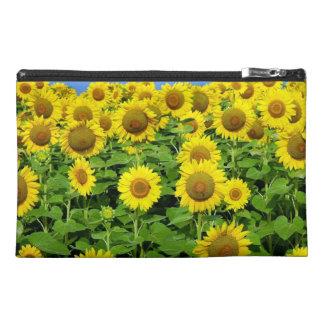Sunflower Fields Travel Accessories Bags