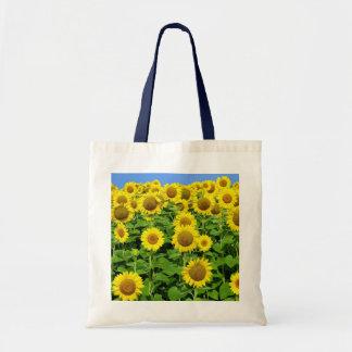 Sunflower Fields Budget Tote Bag