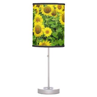 Sunflower Fields Desk Lamp