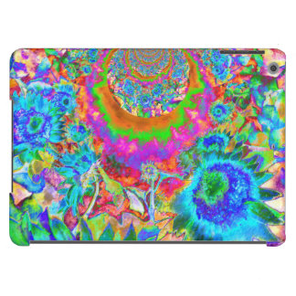 Sunflower fields forever - blue case for iPad air