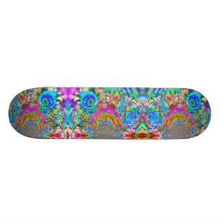 Sunflower Fields forever -blue Skateboard