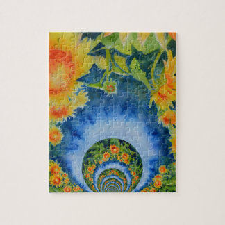 Sunflower Fields Forever Jigsaw Puzzle