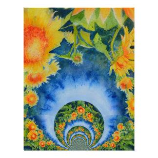 Sunflower Fields Forever Letterhead