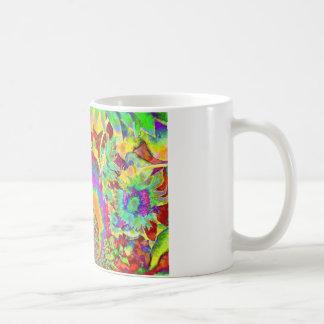 Sunflower Fields Forever - orange Classic White Coffee Mug
