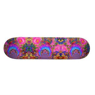 Sunflower Fields forever - pink Skateboard