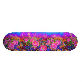 Sunflower fields forever skateboard