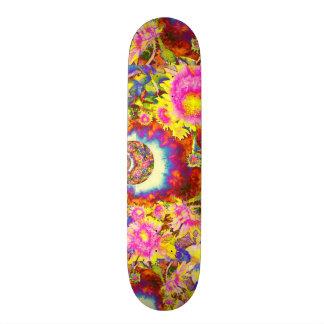 Sunflower Fields Forever Skateboard Deck