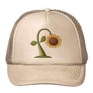 Sunflower Fields Mesh Hat