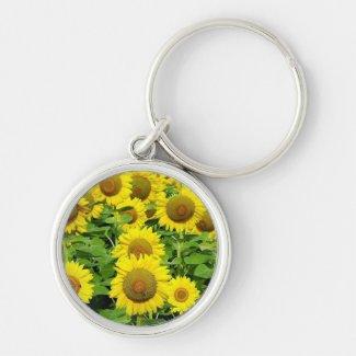 Sunflower Fields Keychains