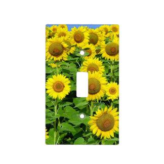 Sunflower Fields Light Switch Cover