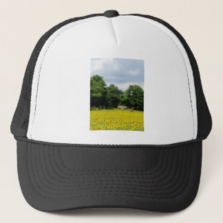 Sunflower Fields Limousin France Trucker Hat