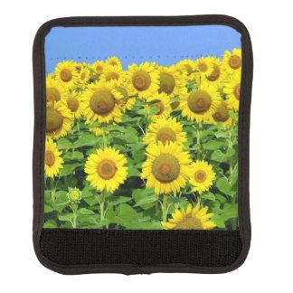 Sunflower Fields Luggage Handle Wrap