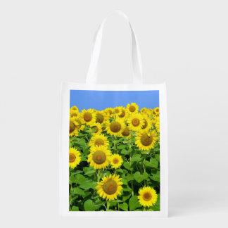 Sunflower Fields Market Totes