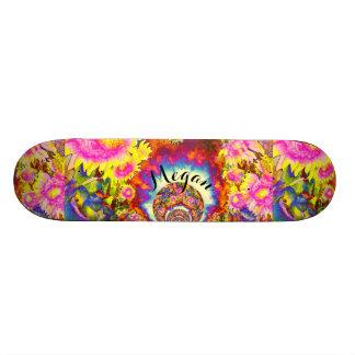 Sunflower Fields Monogram Skateboard