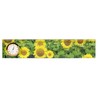 Sunflower Fields Nameplate