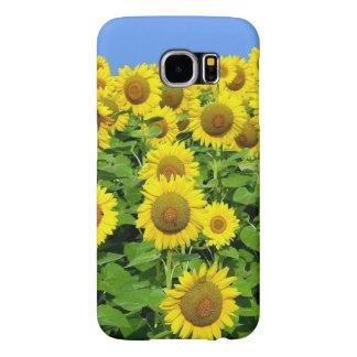 Sunflower Fields Samsung Galaxy S6 Cases