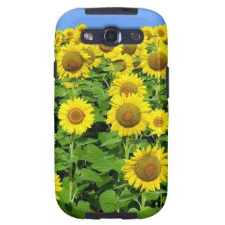 Sunflower Fields Samsung Galaxy SIII Covers