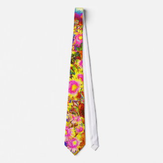 Sunflower Fields Tie