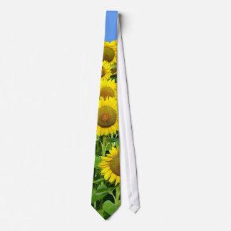 Sunflower Fields Tie