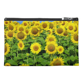 Sunflower Fields Travel Accessories Bags