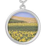Sunflower fields, Tuscany, Italy  flowers Custom Jewelry