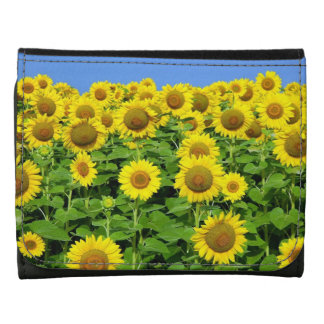 Sunflower Fields Wallets