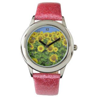 Sunflower Fields Watches