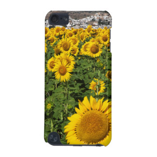 Sunflower fields, white hill town of Bornos iPod Touch 5G Cover