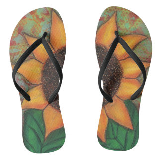 Sunflower Flip Flop Sandals Flip Flops