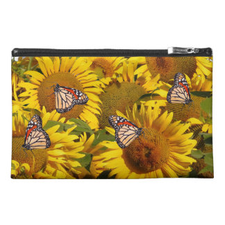 Sunflower Flower Butterfly Floral Bag Purse