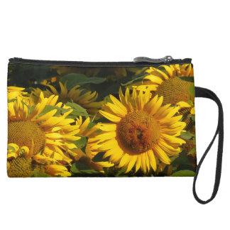 Sunflower Flower Garden Floral Bag Purse