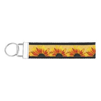 Sunflower Flower Garden Wrist Keychains Wrist Keychain
