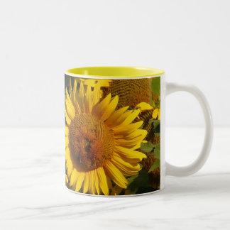 Sunflower Flowers Floral Garden Mug