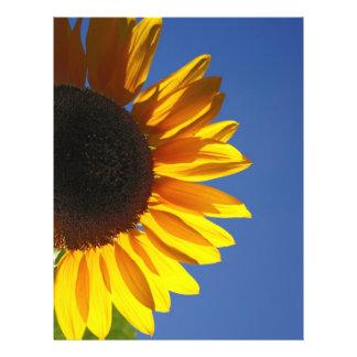 Sunflower Flyer Design