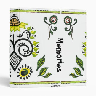Sunflower Folk Pattern by Alexandra Cook Binder