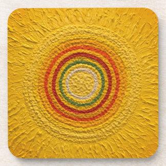 Sunflower for All Seasons Beverage Coaster