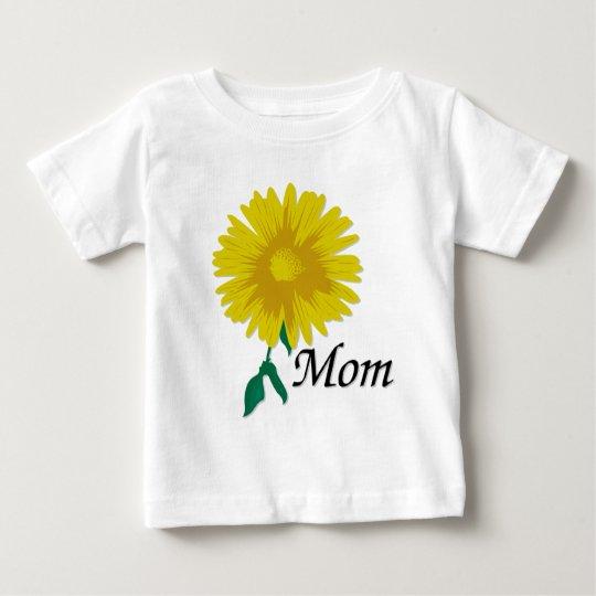 Sunflower for Mom Baby T-Shirt