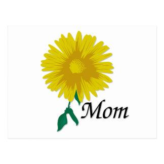 Sunflower for Mom Postcard