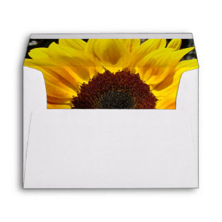 Sunflower & Friends Bouquet Envelope