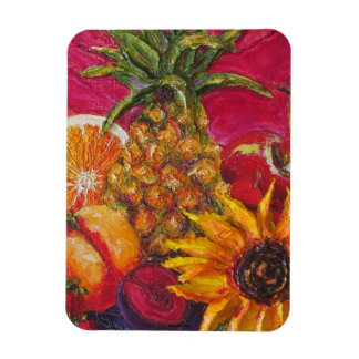 Sunflower & Fruit Magnet