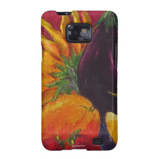 Sunflower & Fruit Samsung Galexy Case Samsung Galaxy S2 Covers
