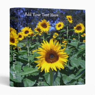 Sunflower Fun Binders